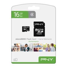 PNY Performance Class 4 microSDHC Memory