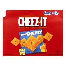 CHEEZ IT Extra Cheesy Crackers 3