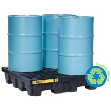 EcoPolyBlend Spill Control Pallets Yellow 73