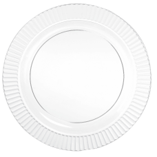 Amscan Clear Plastic Plates 10 14