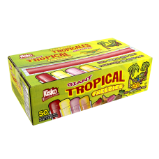 Kisko Freezies Freeze Pops Giant Tropical