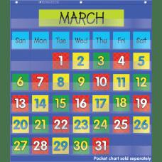 Scholastic Teacher Resources Pocket Chart Calendar