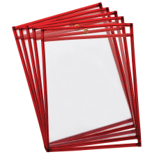 Pacon Dry Erase Pockets 9 x