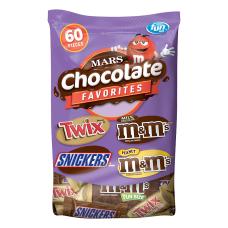 Mars Chocolate Favorites 339 Oz Bag