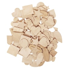 Pacon Creativity Street Natural Wood Shapes