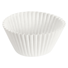 Hoffmaster Fluted Baking Cups 6 White