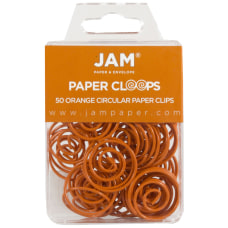 JAM Paper Paper Clips Papercloops 1