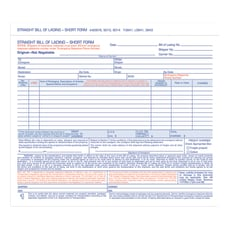 Adams Bill Of Lading Forms 7