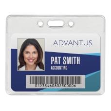 Advantus Proximity Badge Holder Horizontal 3