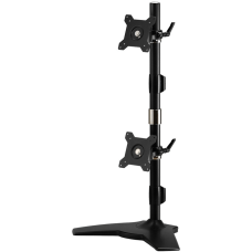 Amer Mounts Stand Based Vertical Dual