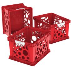 Storex File Crates With Handles Medium
