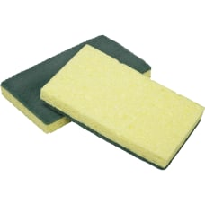 SKILCRAFT Cellulose Scrubber Sponges 4 12