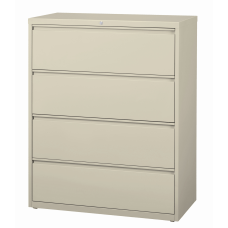 WorkPro 42 W Lateral 4 Drawer