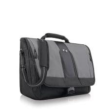 Solo Supreme Messenger Bag BlackGray