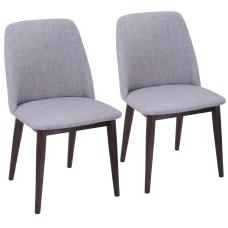 LumiSource Tintori Mid Century Dining Chairs
