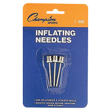 Champion Sports Inflating Needles Retail Pack