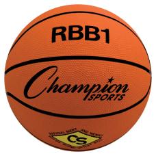 Champion Sports Size 7 Rubber Basketball