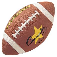 Champion Sports Junior Rubber Football 1050