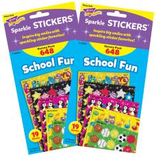 Trend School Fun Sparkle Stickers Assorted
