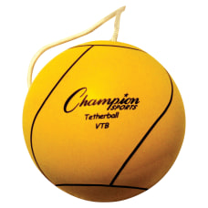 Champion Sports Yellow Tether Ball Rubber