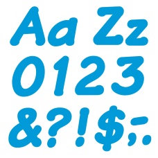 TREND Ready Letters Italic 4 Blue