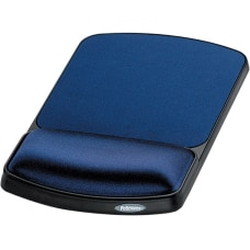 Fellowes Gel Wrist RestMouse Pad Sapphire