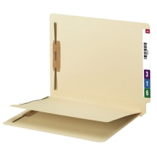 Smead End Tab Fastener Folders With