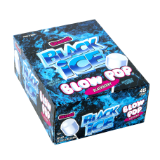 Blow Pop Black Ice Lollipops Pack