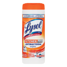 Lysol Kitchen Pro Antibacterial Cleaning Wipes