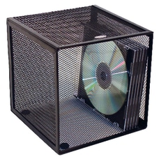 Rolodex Mesh Desk Cube With Drawers