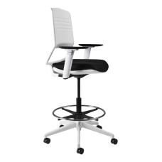 Koplus Switch Fabric Drafting Chair Royal