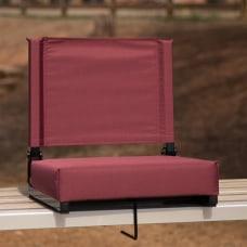 Flash Furniture Grandstand Comfort Seat Maroon
