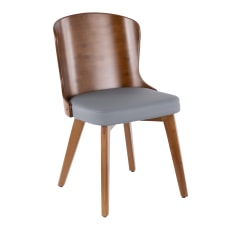 LumiSource Bocello Chair WalnutGray