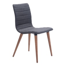 Zuo Modern Jericho Dining Chairs GrayWalnut