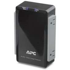 APC P4V 4 Outlets Surge Suppressor