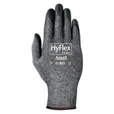 HyFlex Foam Gray Gloves Medium BlackGray