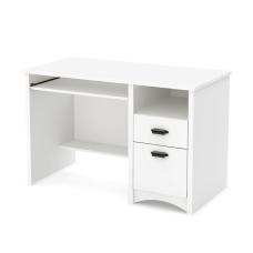 South Shore Gascony Desk Pure White