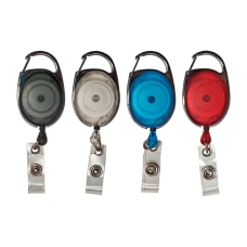 Advantus Retractable Carabiner Style Badge Reel