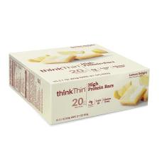 thinkThin High Protein Bars Lemon Delight