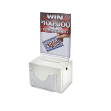 Azar Displays Plastic Suggestion Box With
