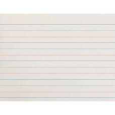 Zaner Bloser Broken Midline Ruled Paper