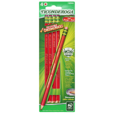 Ticonderoga Erasable Checking Pencils 26 mm