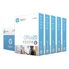 HP Office20 Paper Letter Paper Size