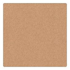 U Brands Unframed Cork Canvas Bulletin