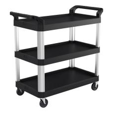 Suncast Commercial 3 Shelf Service Cart