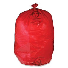 Unimed Red Biohazard Waste Bags 30