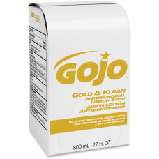 GOJO Gold Klean Antimicrobial Lotion Hand