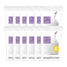 simplehuman Custom Fit Trash Can Liners