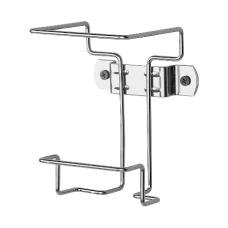 Unimed Coated Nonlocking WallCart Bracket 025