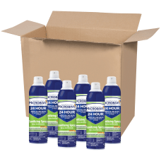 Microban 24 Hour Disinfectant Sanitizing Spray
